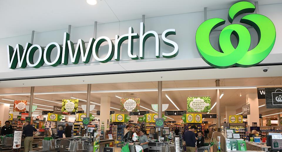 Woolworths store.