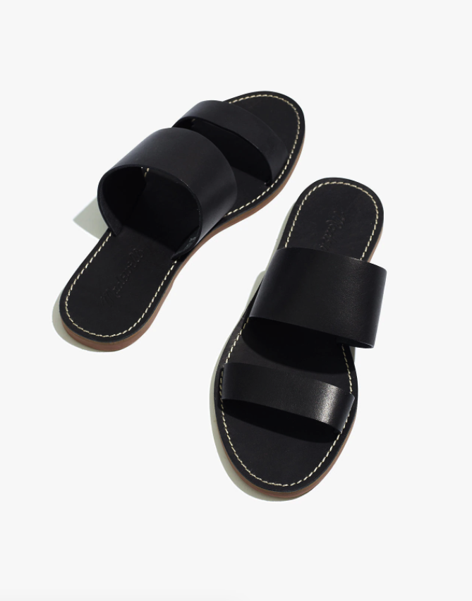 """<br> <br> <strong>Madewell</strong> The Boardwalk Double-Strap Slide Sandal, $, available at <a href=""""https://go.skimresources.com/?id=30283X879131&url=https%3A%2F%2Fwww.madewell.com%2Fthe-boardwalk-double-strap-slide-sandal-AH748.html"""" rel=""""nofollow noopener"""" target=""""_blank"""" data-ylk=""""slk:Madewell"""" class=""""link rapid-noclick-resp"""">Madewell</a>"""
