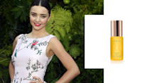 """<p>Miranda Kerr is without a doubt one of our muses for living a beautiful, healthy, and happy life. Her glow is simply unmatched; however, we are able to re-create it, thanks to her Aussie-made natural and organics skin care line. <br><br>Noni Radiant Eye Oil, $38, <a href=""""https://us.koraorganics.com/collections/get-the-noni-glow/products/noni-radiant-eye-oil"""" rel=""""nofollow noopener"""" target=""""_blank"""" data-ylk=""""slk:us.koraorganics.com"""" class=""""link rapid-noclick-resp"""">us.koraorganics.com</a>. (Art by Quinn Lemmers for Yahoo Lifestyle) </p>"""