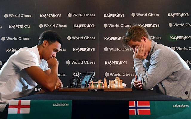 Liverpool defender Trent Alexander-Arnold was once put to the chess sword by Magnus Carlsen - PA