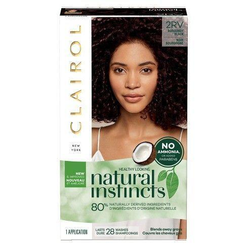 """<p><strong>Clairol</strong></p><p>walmart.com</p><p><strong>$6.92</strong></p><p><a href=""""https://go.redirectingat.com?id=74968X1596630&url=https%3A%2F%2Fwww.walmart.com%2Fip%2FClairol-Natural-Instincts-Semi-Permanent-Hair-Color-4-Dark-Brown%2F378889243&sref=https%3A%2F%2Fwww.goodhousekeeping.com%2Fbeauty-products%2Fhair-dye-reviews%2Fg792%2Fbest-home-hair-color%2F"""" rel=""""nofollow noopener"""" target=""""_blank"""" data-ylk=""""slk:Shop Now"""" class=""""link rapid-noclick-resp"""">Shop Now</a></p><p>Numerous shades — especially dark hair like browns and reds — from Clairol's popular demi-permanent drugstore color impressed the GH Beauty Lab. In Lab testing, the at-home dye <strong>offered even coverage, </strong><strong>left hair shiny, and was fade-resistant </strong>when used to cover up gray. </p>"""