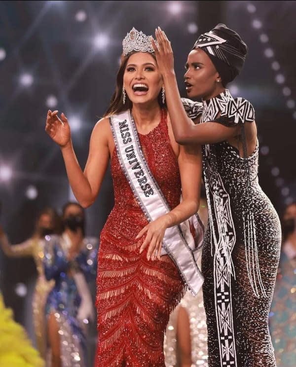 Andrea Meza of Mexico won this year's pageant
