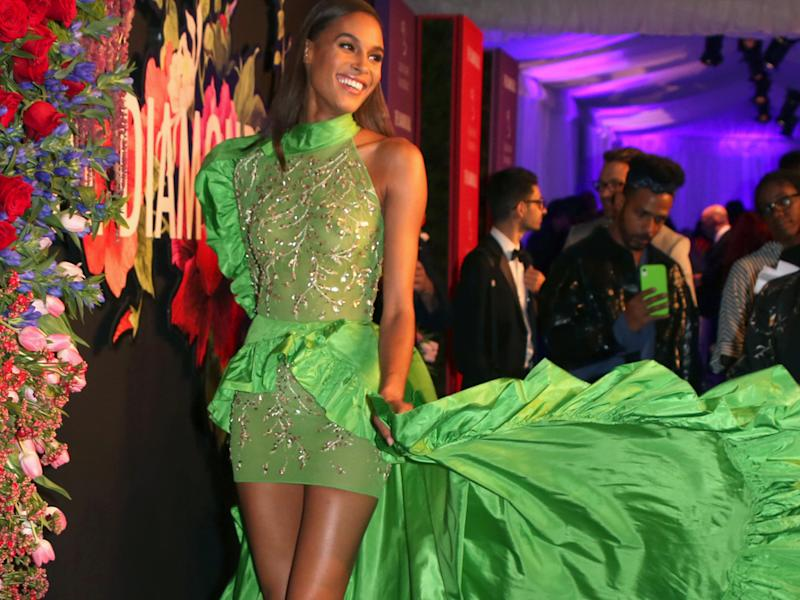 """Victoria's Secret""-Engel Cindy Bruna beim ""Diamond Ball"" in Manhattan (Bild: Represented by ZUMA Press, Inc./ImageCollect)"