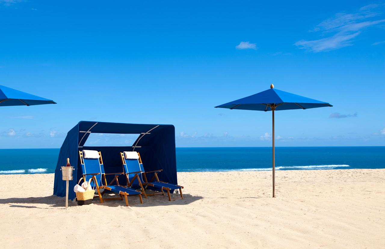 """<p><strong>Where to stay: <a rel=""""nofollow"""" href=""""http://www.marriott.com/hotels/travel/pbisg-palm-beach-marriott-singer-island-beach-resort-and-spa/"""">Palm Beach Marriott Singer Island Beach Resort & Spa</a> <br></strong></p><p>With the world's third largest barrier reef practically at its doorstep, this hotel is the perfect base for beach babies and adrenaline junkies. There are snorkel and scuba diving options aplenty, but the real kicker is the shark diving. If it's your first time, try it in a cage. But if you're up for more heart-pumping adventure, go cage-free with one of the local tour guides. When you book the resort's <a rel=""""nofollow"""" href=""""http://deals.marriott.com/marriott-hotels-resorts/usa/fl/palm-beach-singer-island/capture-the-moment-2017"""">Capture the Moment </a>package, guides will snap the perfect Insta photos for you on a GoPro Hero 4 (you even get to keep the $400 camera), and each day you'll be guaranteed two beach chairs and an umbrella. </p><p><strong>RELATED: <a rel=""""nofollow"""" href=""""http://www.redbookmag.com/life/g3864/solo-vacations-for-women/"""">15 Solo Getaways Every Grown-Ass Woman Should Take</a><span><a rel=""""nofollow"""" href=""""http://www.redbookmag.com/life/g3864/solo-vacations-for-women/""""></a></span></strong><br></p>"""