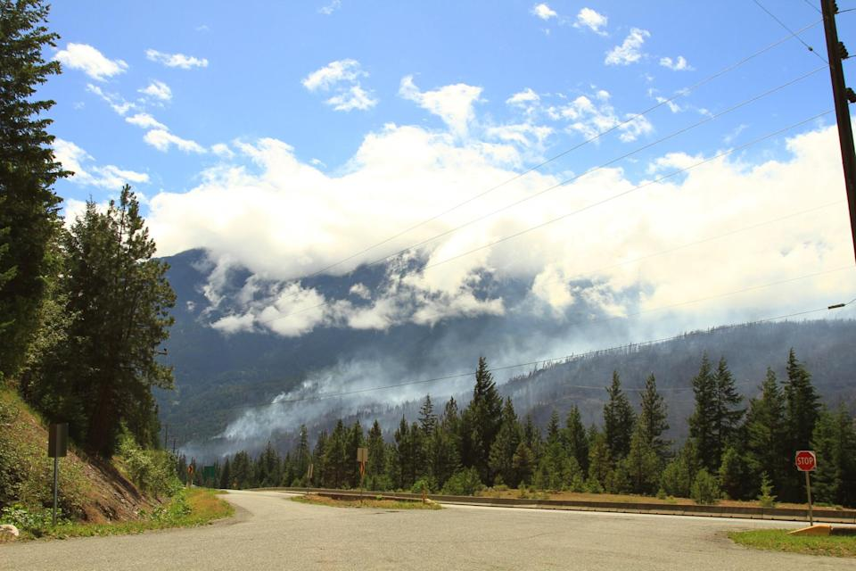 lytton BC wildfire (© Right. Photo. Moment Open. Getty Images)