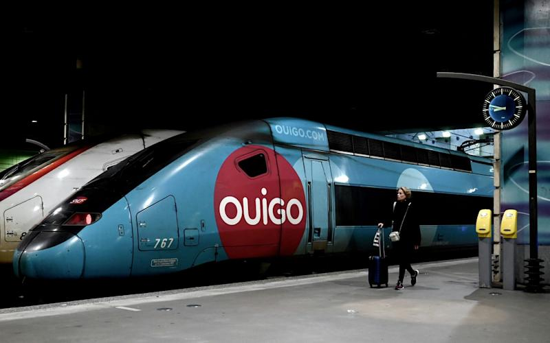 One of France's high-speed trains that take tourists all around the country - Philippe Lopez/AFP