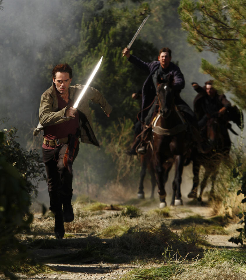"""Billy Burke stars as Miles Matheson in """"Revolution"""" on NBC."""