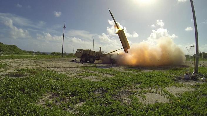 The plan by Washington and Seoul to install the Terminal High Altitude Area Defense (THAAD) missile system is in response to threats from North Korea, but has angered China which fears it will undermine its own ballistic capabilities (AFP Photo/Ben Listerman)