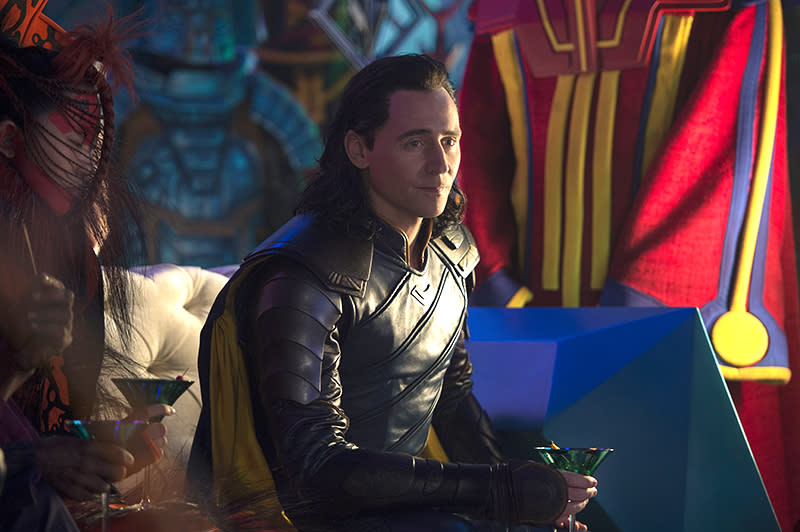 <p>Thor's trickster half-brother Loki (Tom Hiddleston) is once again back — but will he help or vex the Avenger? (Photo: Marvel) </p>