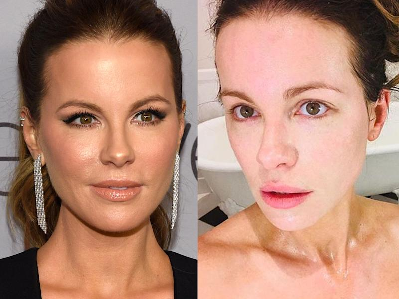 kate beckinsale makeup free