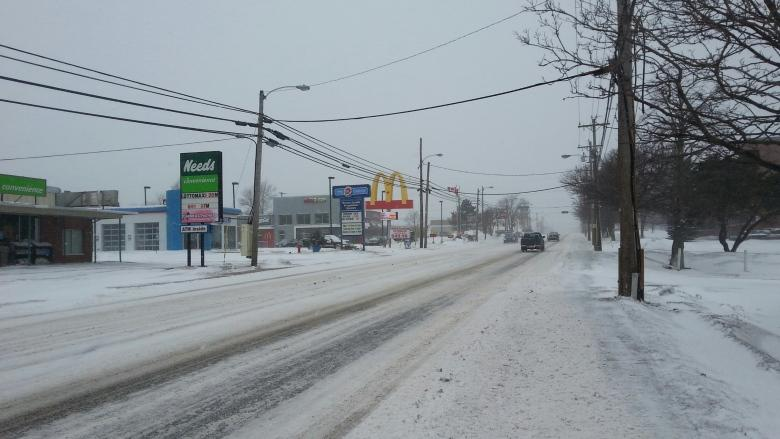 Messy weather for parts of P.E.I. today