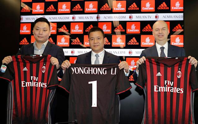AC Milan sale to Chinese-led consortium 'worth €1billion'