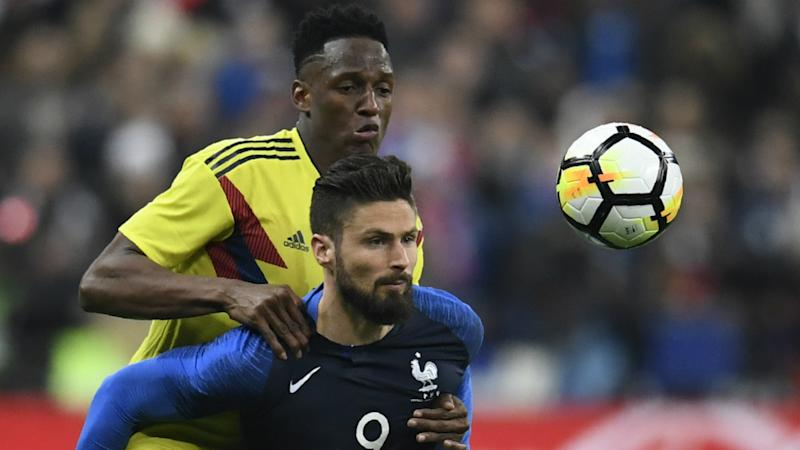 Giroud: France given a slap in Colombia collapse