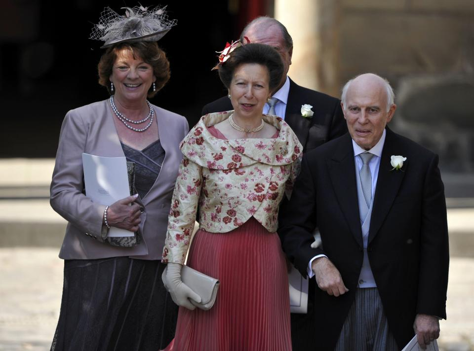 <p>Princess Anne with family and friends. Zara is the princess's only daughter and the Queen's oldest granddaughter. (Dylan Martinez - WPA Pool/Getty Images)</p>