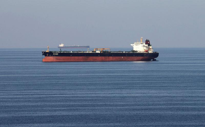 FILE PHOTO: FILE PHOTO: Oil tankers pass through the Strait of Hormuz