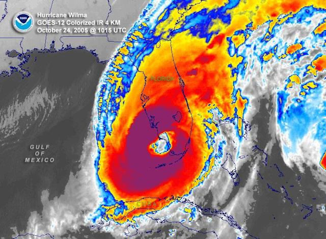Hurricane Wilma. (Photo: NOAA)