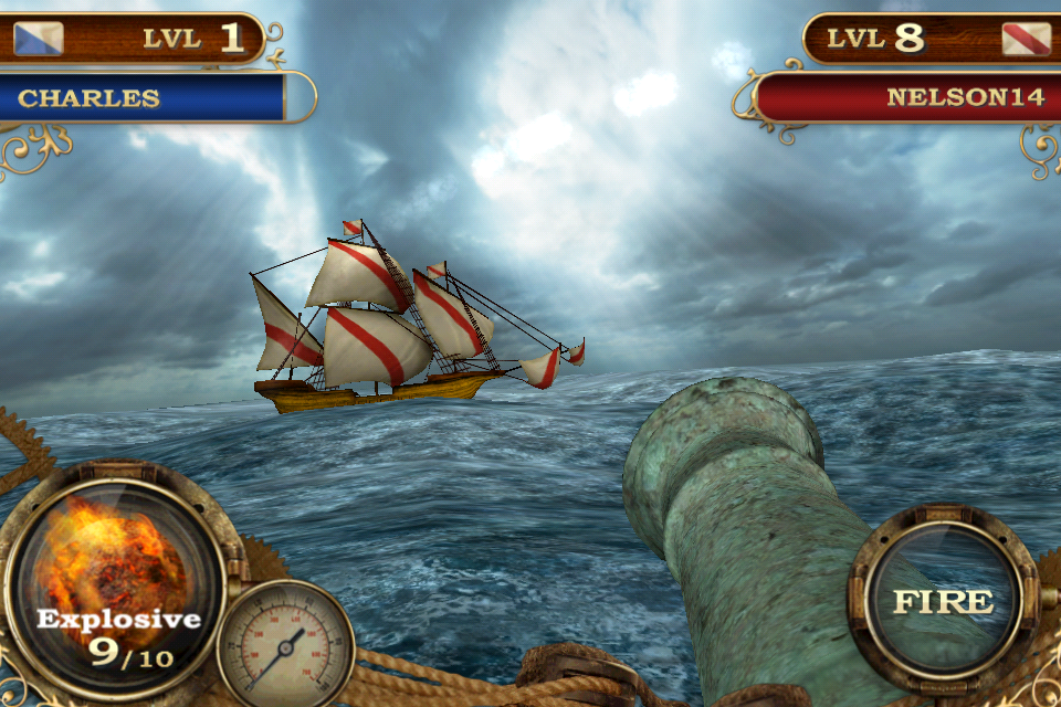 Captain's Conquest iPhone Android