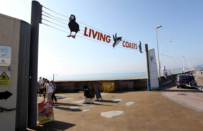 Living Coastsy in Torquay will not reopen as a visitor attraction after being unable to manage its 'substantial' maintenance costs during the lockdown without income from ticket sales. (SWNS)