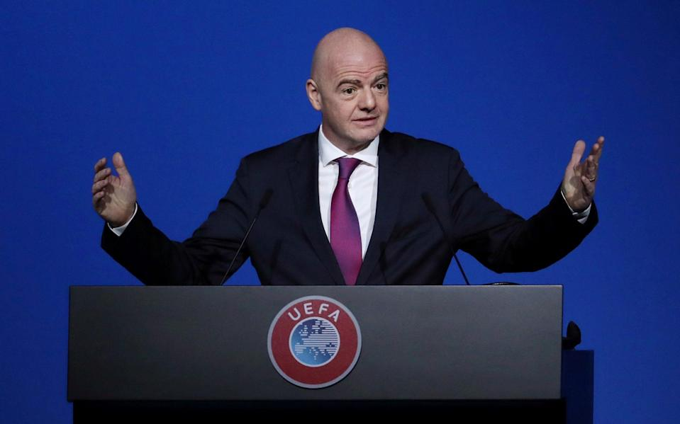 Gianni Infantino - REUTERS
