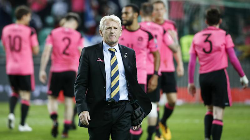 Strachan blames 'genetics' for Scotland's qualifying exit