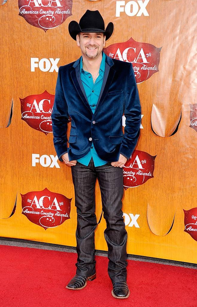 Singer Craig Campbell arrives at the American Country Awards held at the MGM Grand Garden Arena in Las Vegas. (12/05/2011)
