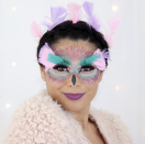 """<p>Facing a chilly evening? For a comfy last-minute costume, throw on a fuzzy jacket, then apply some colorful, feathery strokes of makeup. Complete the look with a sprinkling of real feathers. </p><p><a class=""""link rapid-noclick-resp"""" href=""""https://www.instagram.com/p/Bo4ifPKAYvF/"""" rel=""""nofollow noopener"""" target=""""_blank"""" data-ylk=""""slk:SEE MORE"""">SEE MORE</a> </p><p><a class=""""link rapid-noclick-resp"""" href=""""https://www.amazon.com/Feathers-Accessories-Catchers-Centerpieces-Decorations/dp/B07SGQKVF5?tag=syn-yahoo-20&ascsubtag=%5Bartid%7C10072.g.33547559%5Bsrc%7Cyahoo-us"""" rel=""""nofollow noopener"""" target=""""_blank"""" data-ylk=""""slk:SHOP FEATHERS"""">SHOP FEATHERS</a></p>"""