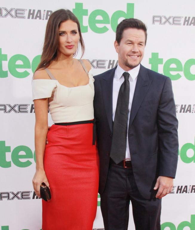 Mark Wahlberg and Rhea Durham attending the premiere of 'Ted' at Grauman's Chinese Theatre