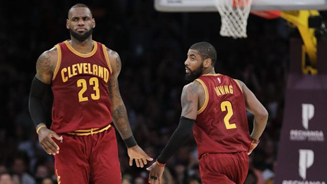 LeBron James is always the center of the Cavs' plans. (AP)