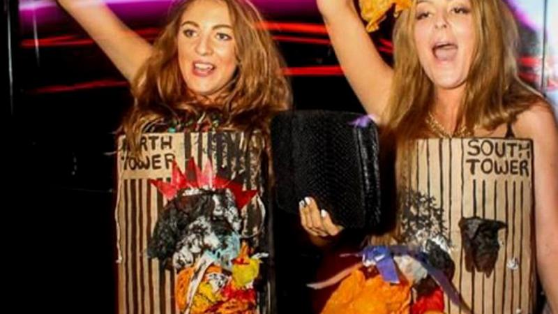 Teens' Burning Twin Towers Costume Causes Outrage