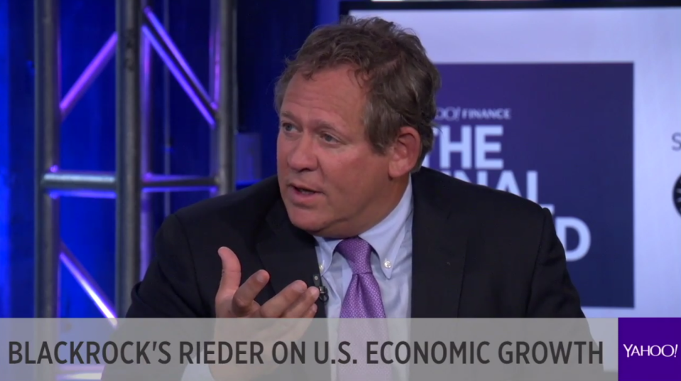 Rick Rieder, BlackRock's chief investment officer for global fixed income, tells Yahoo Finance what his story of the year is for 2018 and why the US economy could cause the Fed to change course next year.  (Source: Yahoo Finance)