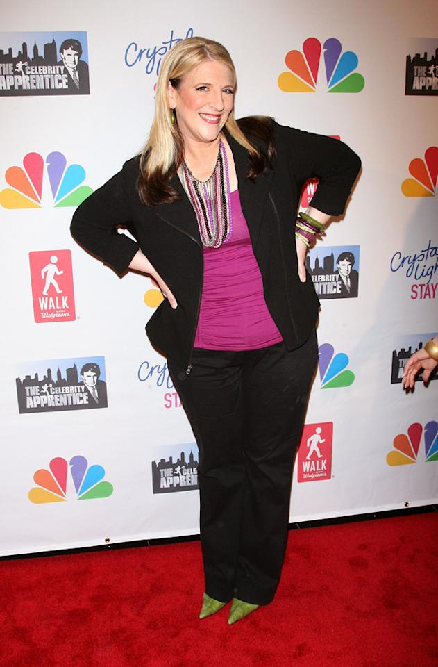 "Lisa Lampanelli attends the ""Celebrity Apprentice"" Live Finale at American Museum of Natural History on May 20, 2012 in New York City."
