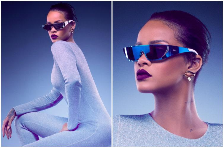 11177b25b7ae Rihanna s New Shades Might Be the Craziest (But Also Coolest) Sunglasses  Ever