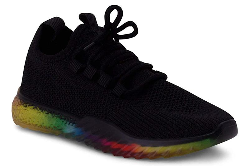 Wanted, rainbow sneakers