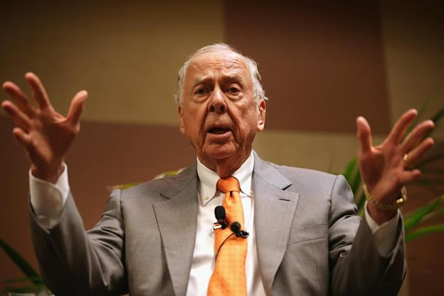 T. Boone Pickens has been productive in his post-65 era. Credit: Getty Images