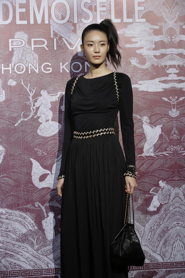 <p>Thai actress Mashannoad Suwanmas at CHANEL Mademoiselle Privé Exhibition in Hong Kong</p>