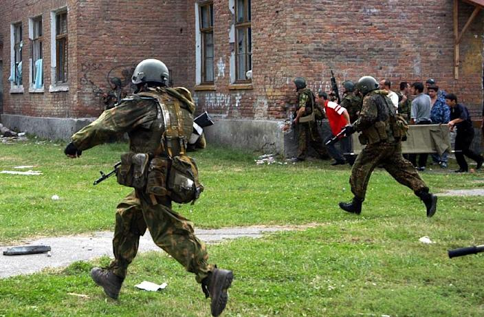 """The ECHR found """"serious failings"""" in Russia's response to the 2004 school siege (AFP Photo/YURI TUTOV)"""