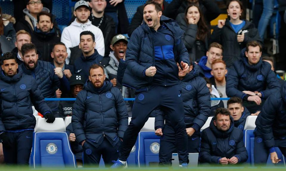 Frank Lampard has seen expectations rise after the £220m splurge on new signings last summer.