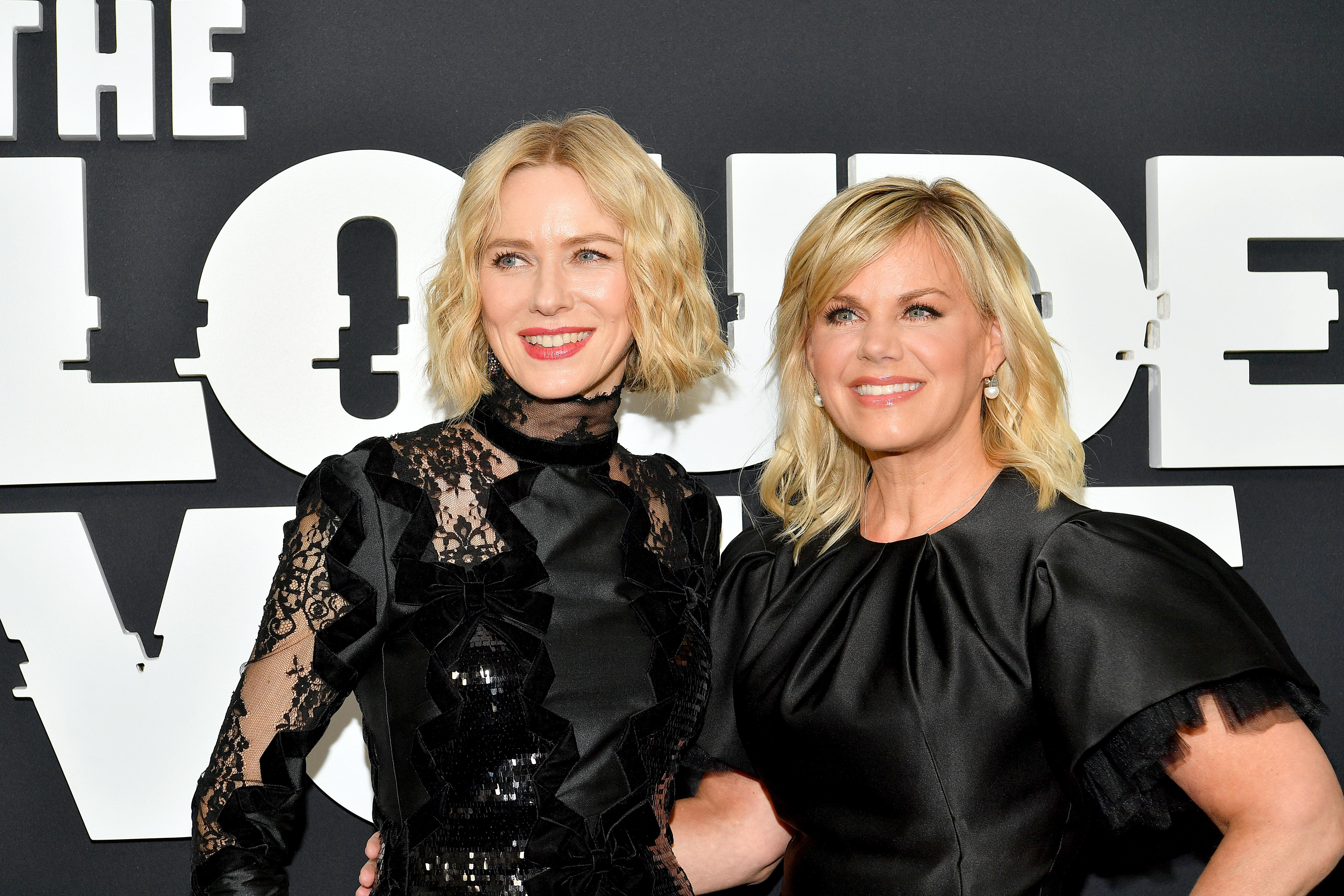 """NEW YORK, NEW YORK - JUNE 24: Naomi Watts and Gretchen Carlson attend """"The Loudest Voice"""" New York Premiere at Paris Theatre on June 24, 2019 in New York City. (Photo by Dia Dipasupil/WireImage,)"""