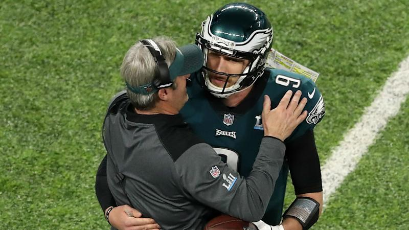 Pederson revels in success of 'Philly Special' trick play
