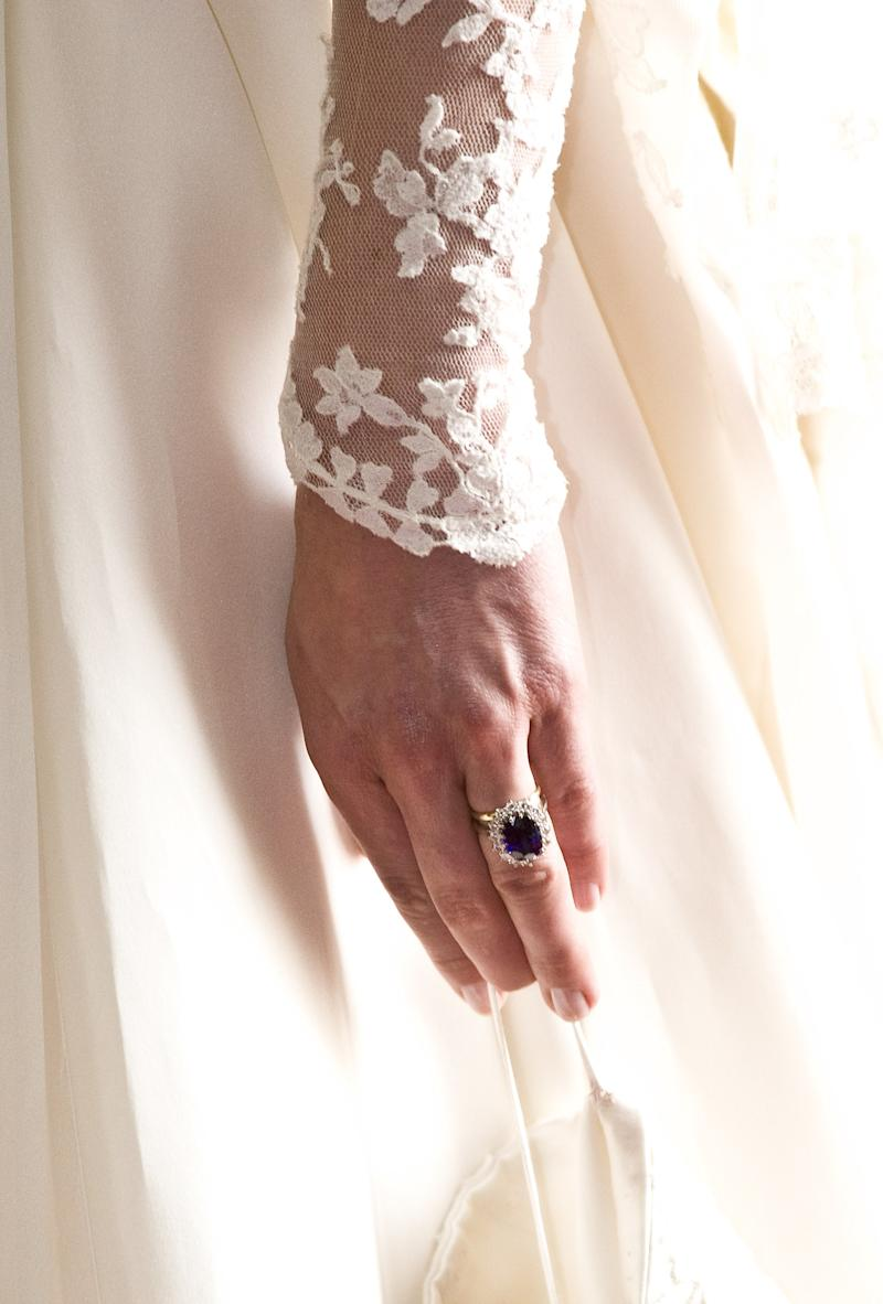 Kate Middleton's nails from her 2011 wedding to Prince William