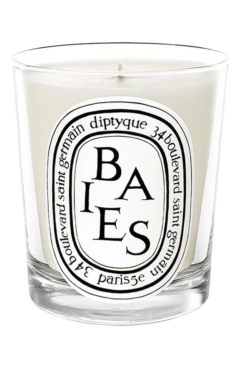 <p>Light up this <span>diptyque Baies/Berries Scented Candle</span> ($35) and you'll never want to leave the house.</p>