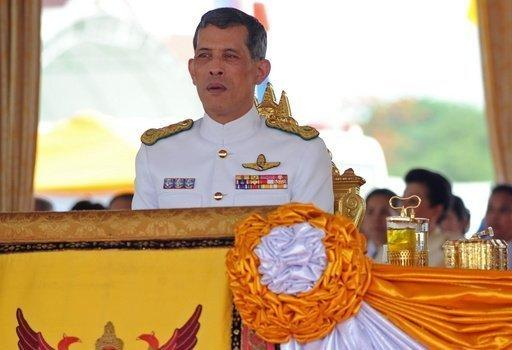 Thai Crown Prince Maha Vajiralongkorn attends the annual Royal Ploughing Ceremony at Sanam Luang in Bangkok last year