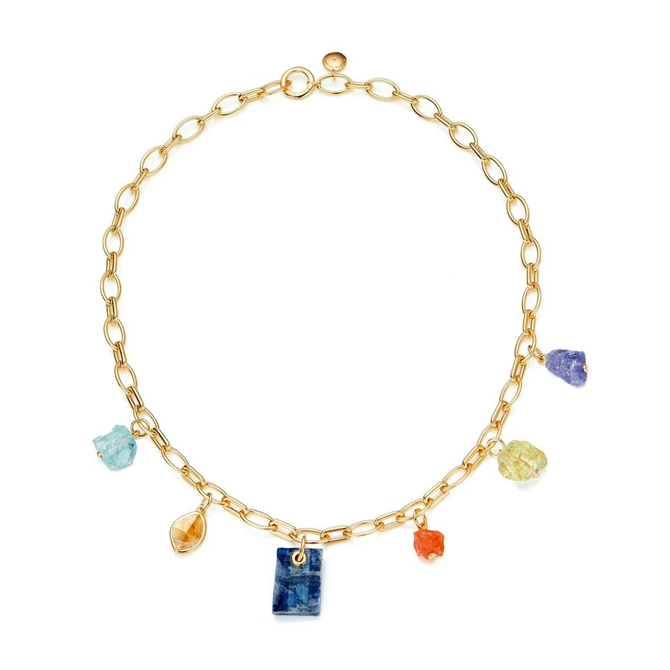 "<p>This luxe necklace is the perfect statement piece to take your look from day to night.</p> <p><strong>Buy Now:</strong> Monica Vinader, Monica Vinader x Caroline Issa gemstone necklace; $795, <a href=""https://shop.nordstrom.com/s/monica-vinader-x-caroline-issa-mixed-gemstone-necklace-nordstrom-exclusive/5370455?origin=coordinating-5370455-0-1-PDP_1.PDP_1_DEFAULT-recbot-frequently_viewed_snowplow_v1&recs_placement=PDP_1.PDP_1_DEFAULT&recs_strategy=frequently_viewed_snowplow_v1&recs_source=recbot&recs_page_type=product&recs_seed=5370450"">shop.nordstrom.com</a>.</p>"
