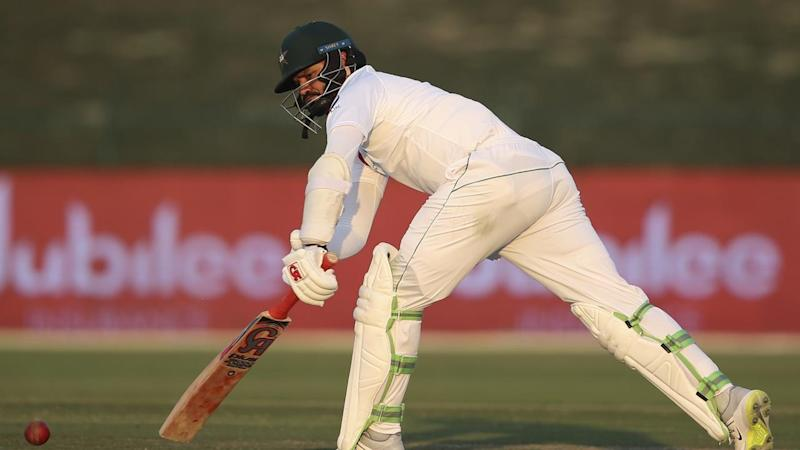 Azhar Ali has helped steady Pakistan's first innings with 62 from 169 balls against New Zealand