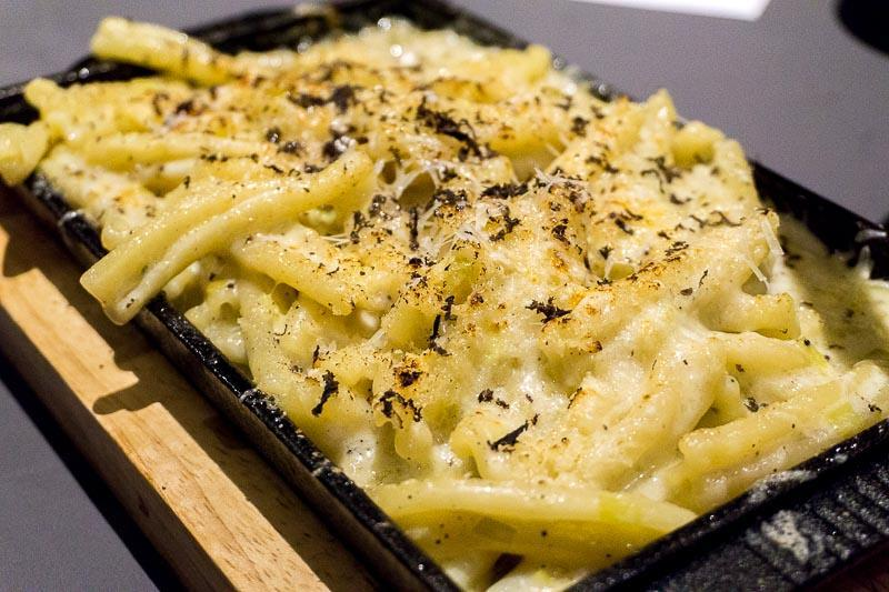 Crusted Mac & Cheese at Fat Belly Social Steakhouse