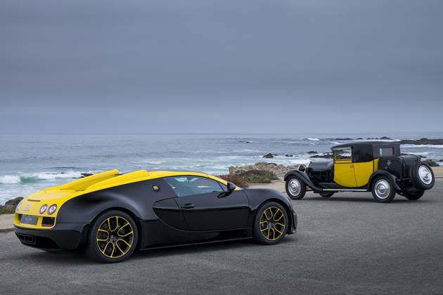 Uniquely Singapore indeed, down to the iconic 'Yellow Top' paintwork. (Photo credit: Bugatti)