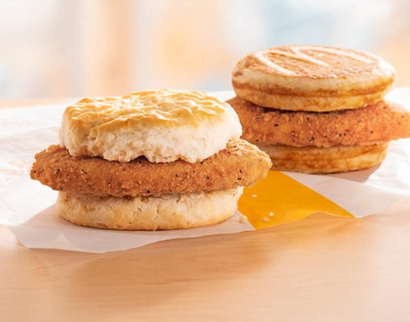 McDonald's Is Finally Adding Fried Chicken Sandwiches to the Breakfast Menu