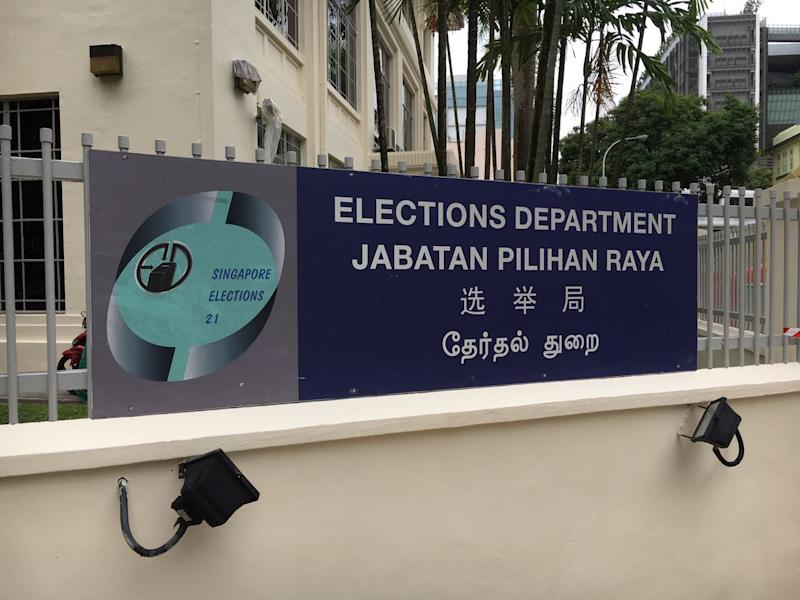 Elections Department Singapore (Yahoo News Singapore file photo)