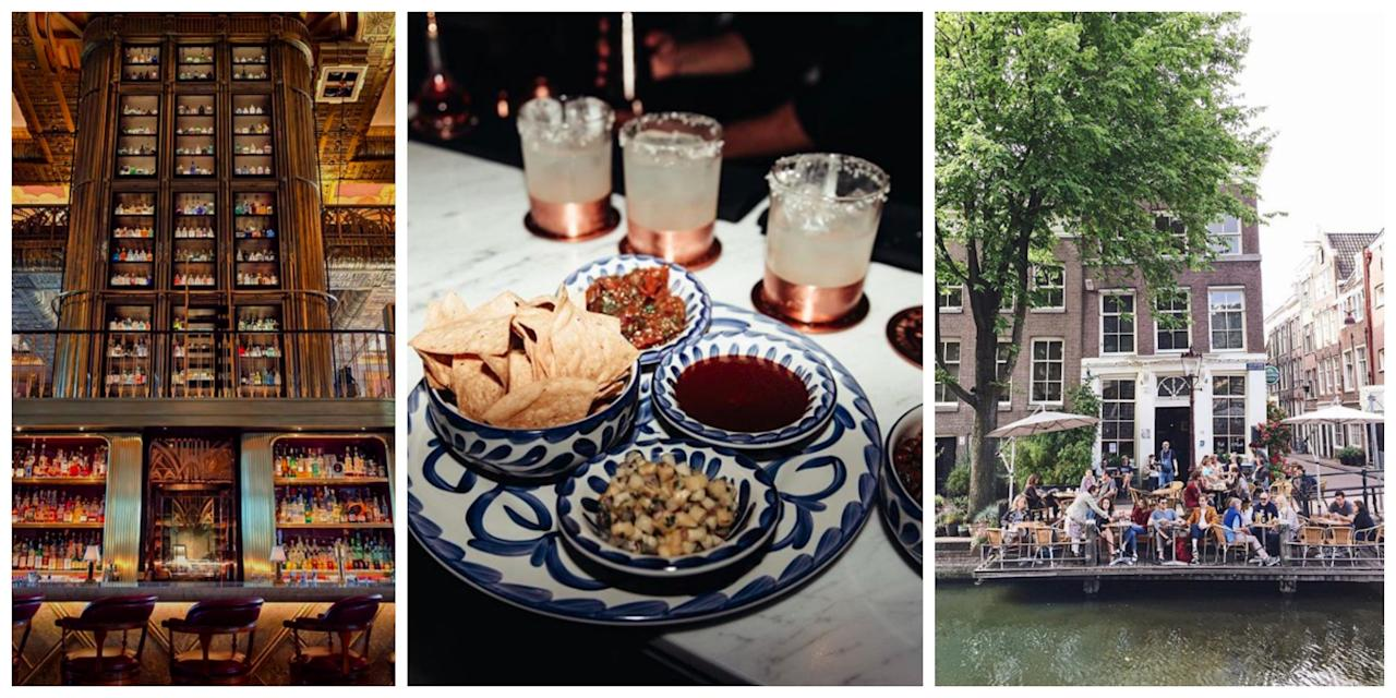 <p>From bespoke cocktails to luxe food menus, these bars are a favourite amongst locals and travellers. Sit back and watch the world go by on your next visit to these cultural hubs. </p>