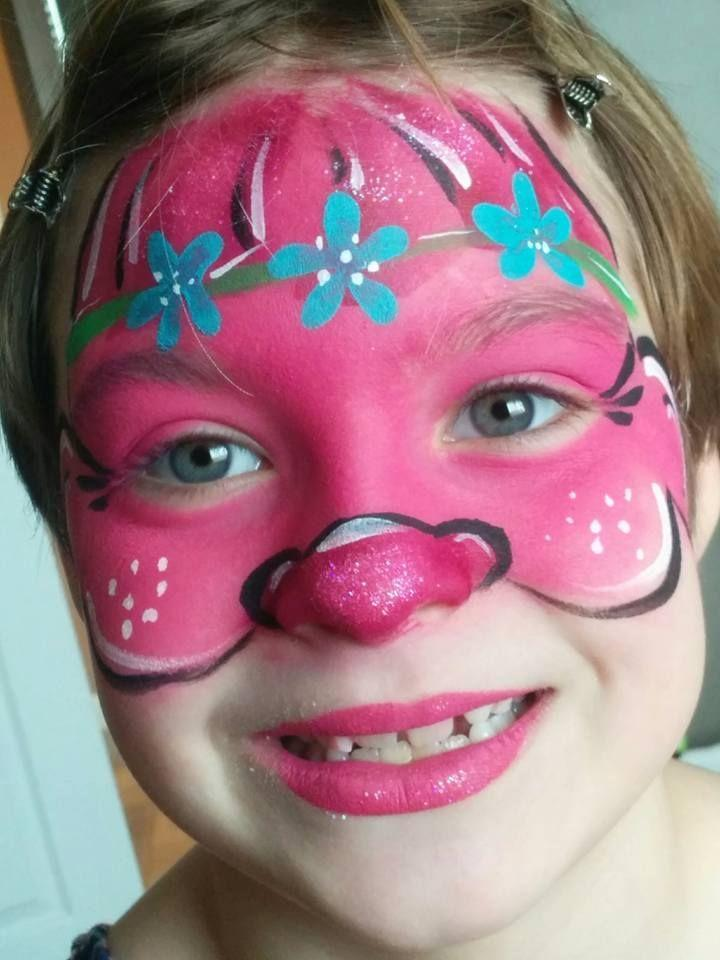 "<p>Try your hand at re-creating Poppy's signature look with this Trolls-inspired face paint, ideal if your little one wants to ditch the hair.<br><br><em><a href=""https://queenbeefacepainti.wixsite.com/queenbeefacepainting?fbclid=IwAR0umOqB2-2DUaim-Zb1Z5pIsfw6iPA1sed4JqBngYDqZTLqjfX2vkoG6r0"" rel=""nofollow noopener"" target=""_blank"" data-ylk=""slk:See more at Queen Bee Face Painting »"" class=""link rapid-noclick-resp"">See more at Queen Bee Face Painting »</a></em><br></p>"
